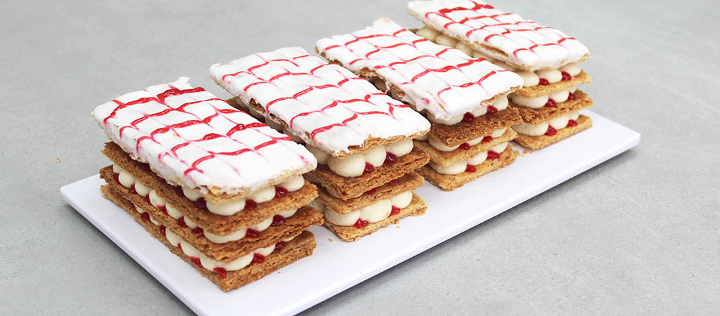 Prue Leith's Millefeuille | The Great British Bake Off