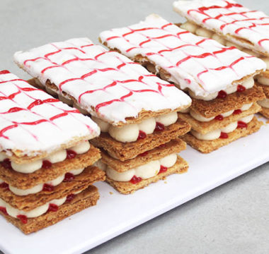 Prue Leith's Millefeuille