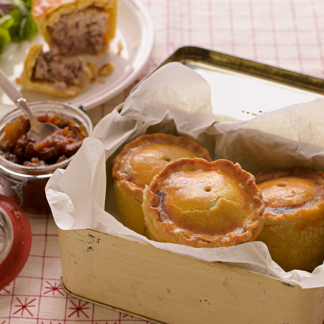 Mini Pork Pies The Great British Bake Off