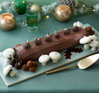 Val's Black Forest Yule Log