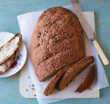 Julia's Black Rye Bread