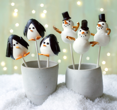 Terry's Penguin & Snowmen Cake Pops