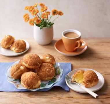 Kate's Orange Craquelin Choux Buns