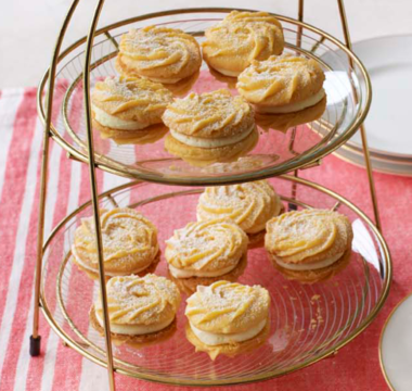 James's Rhubarb & Custard Whirls