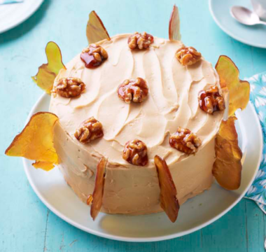 Julia's Caramel Shard Poppy Seed Cake
