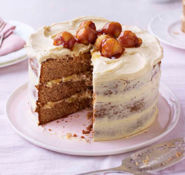 Kate's Sticky Toffee Apple Caramel Cake