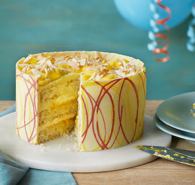 Peter's Mango and Coconut Celebration Cake