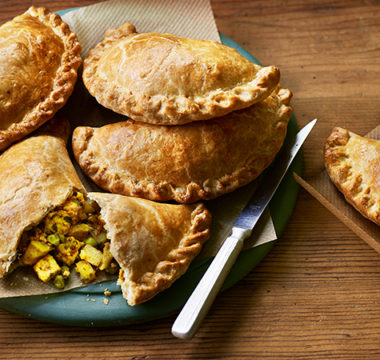 Mark's Aloo Gobi & Paneer Pasties
