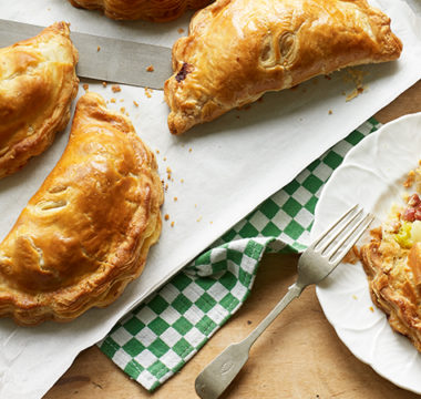 Laura's Proper Tasty Leek, Potato & Pancetta Pasties