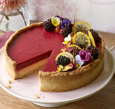 Peter's Blackberry & Lemon Tart