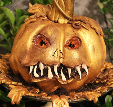 Helena's Pumpkin and Maple Jack O'Lantern Cake