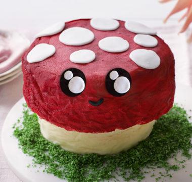 Lottie's Toadstool Cake