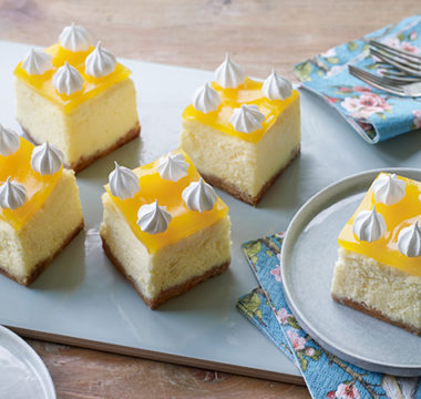 Dave's 'Celebration of Citrus' Cheesecakes