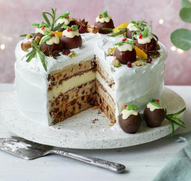 Peter's 'Christmas Ice Cream Cake'