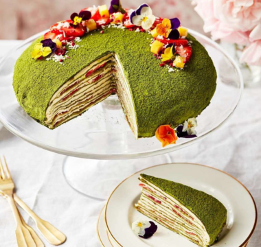 Prue Leith's Matcha Mille Crêpe Cake
