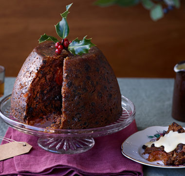 Prue Leith's Last-minute Christmas Pudding