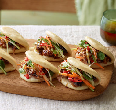Paul Hollywood's Steamed Bao Buns with Crispy Duck