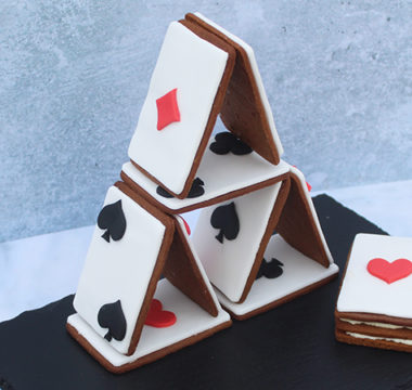 Liam Charles's Biscuit Card Tower & Deck of Cards