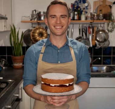 David's Vanilla Sponge Cake