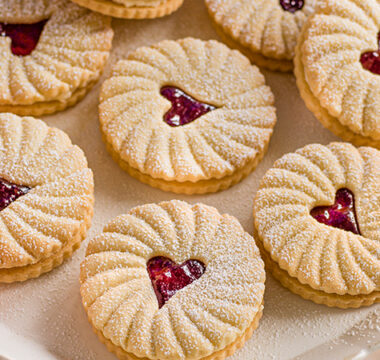 Paul Hollywood's Jammy Biscuits
