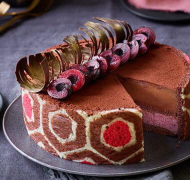 Chigs' Black Forest Imprimé Dessert