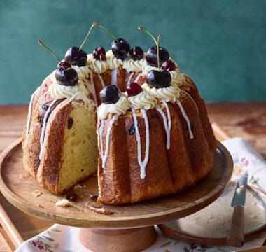 Giuseppe's Amarena Cherry Cake