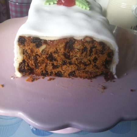 British Christmas Cake.Christmas Cake The Great British Bake Off