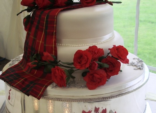 wedding cakes perth scotland scottish wedding cake the great bake 25245