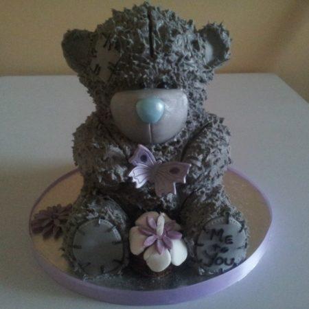 Fantastic Tatty Teddy Birthday Cake The Great British Bake Off Funny Birthday Cards Online Drosicarndamsfinfo