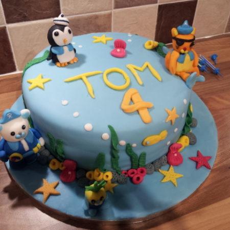 Octonauts 4th Birthday Cake The Great British Bake Off