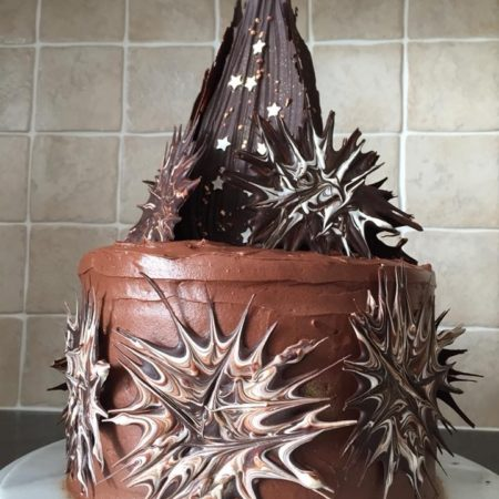 Chocolate Explosion Cake The Great British Bake Off