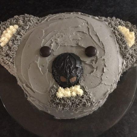 Peachy Koala Cake The Great British Bake Off Funny Birthday Cards Online Hetedamsfinfo