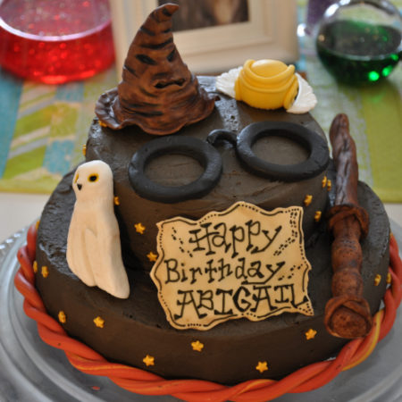 Fine Harry Potter Birthday Cake The Great British Bake Off Personalised Birthday Cards Paralily Jamesorg