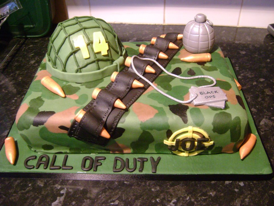 call of duty cake call of duty the great bake 2378