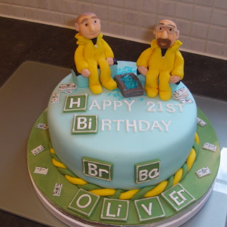 Super Breaking Bad Birthday Cake The Great British Bake Off Funny Birthday Cards Online Overcheapnameinfo