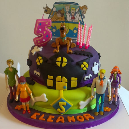 Scooby Doo Birthday Cake The Great British Bake Off