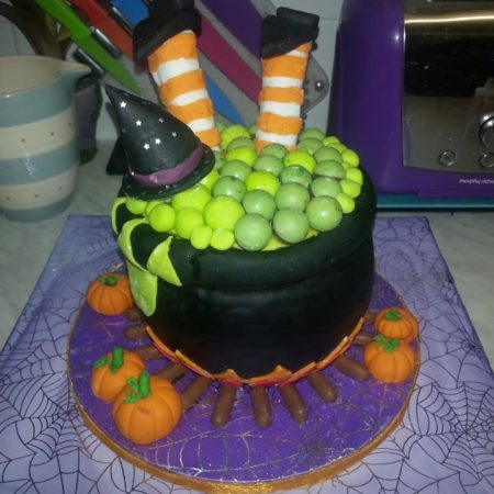 Pleasant Halloween Birthday Cake The Great British Bake Off Funny Birthday Cards Online Barepcheapnameinfo