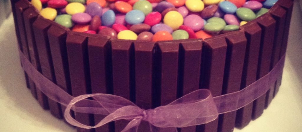 Kitkat Smartie Chocolate Cake The Great British Bake Off