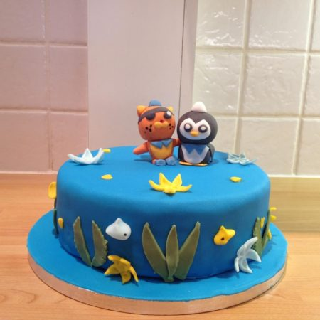 Octonauts Birthday Cake The Great British Bake Off