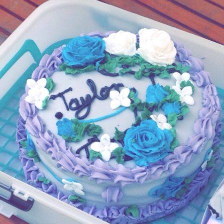 Best Friends Birthday Cake