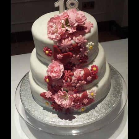 Astounding Jenna 18Th Birthday Cake The Great British Bake Off Personalised Birthday Cards Rectzonderlifede