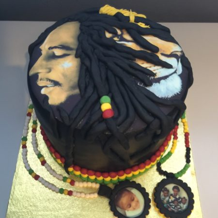 Fantastic Bob Marley Lion Of Judah The Great British Bake Off Personalised Birthday Cards Veneteletsinfo