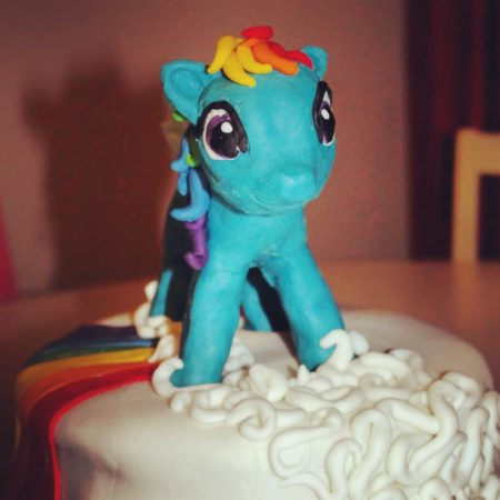 Tremendous Rainbow Dash Birthday Cake The Great British Bake Off Funny Birthday Cards Online Eattedamsfinfo