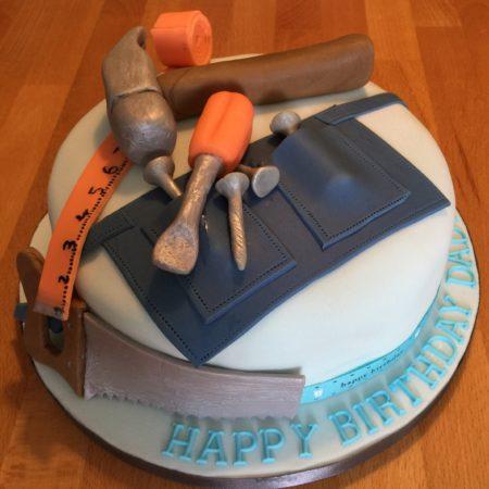 Pleasing Dads Birthday Cake The Great British Bake Off Birthday Cards Printable Trancafe Filternl