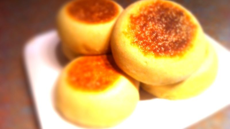 My Perfect English Muffins The Great British Bake Off