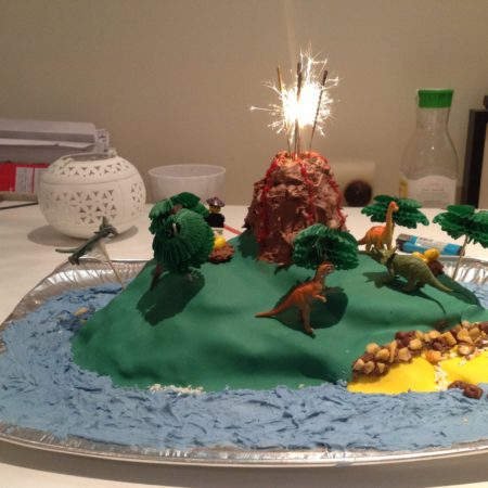 Jurassic Park Cake The Great British Bake Off