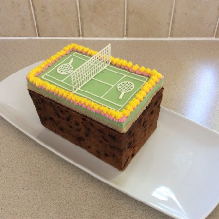 Tennis Cake Great British Bake Off