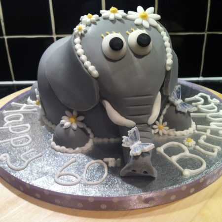 Nelly The Elephant Birthday Cake The Great British Bake Off