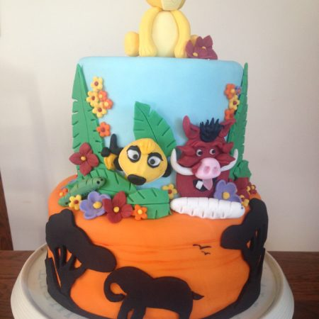 Cool Lion King Birthday Cake The Great British Bake Off Birthday Cards Printable Trancafe Filternl
