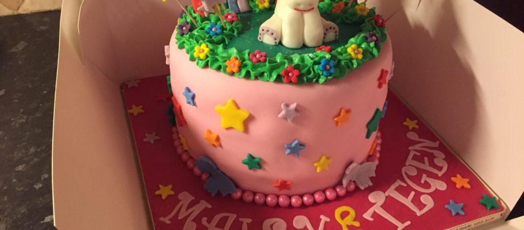 Maisy Amp Tegans Fantasy Cake The Great British Bake Off